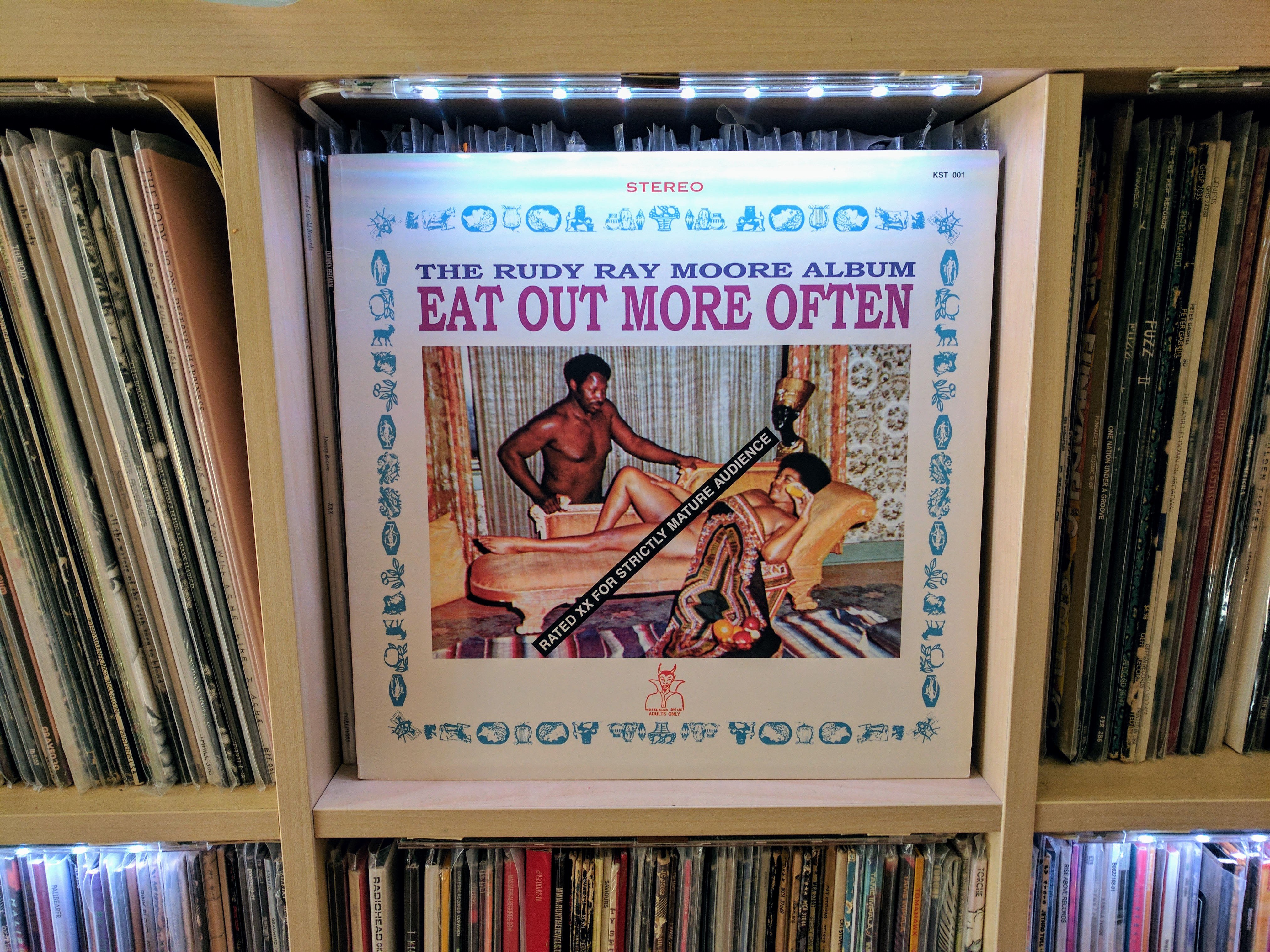 Rudy Ray Moore Eat Out More Often 1970 Goose Island Express ~ release by rudy ray moore (see all versions of this release, 1 available). rudy ray moore eat out more often